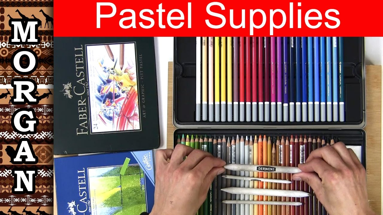 Pastel Drawing for Beginners - pastel pencil Supplies ...