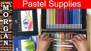 Pastel Drawing for Beginners  - pastel pencil Supplies Jason Morgan wildlife art