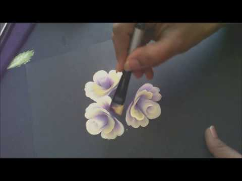 One Stroke Painting Tutorial- Painting Roses with Base And Some Useful Tips
