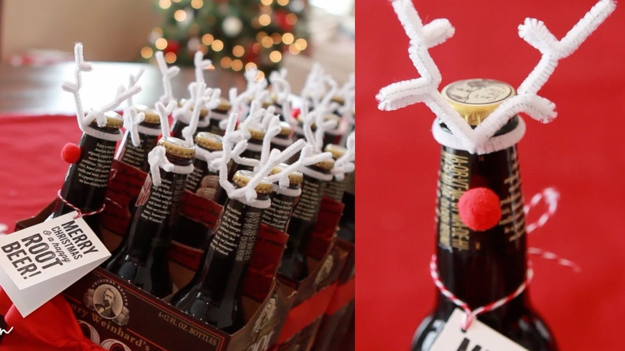 Inexpensive Holiday Neighbor & Co-Worker Gifts - Root Beer Reindeer ...
