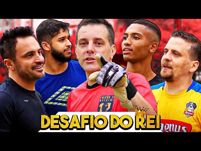Desafio de pênaltis com time do Magnus Futsal - Será que o Mister mitou? #VPCF
