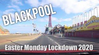 Blackpool Promenade   Bank Holiday Monday 13/04/2020 During Lockdown