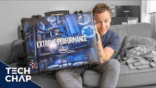 Unboxing a HUGE Loot Crate from INTEL! 😮 | The Tech Chap