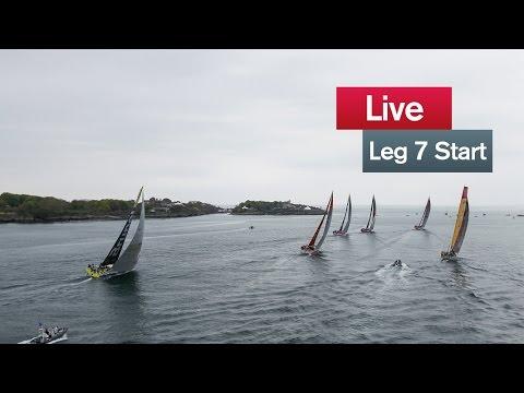 Live recording: Newport Leg 7 start | Volvo Ocean Race 2014-15