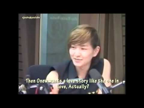 (eng) Onew wrote Your Name lyrics while watching Love Actually