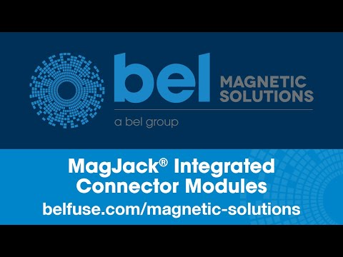 Bel Magnetic Solutions MagJack® Integrated Connector Modules