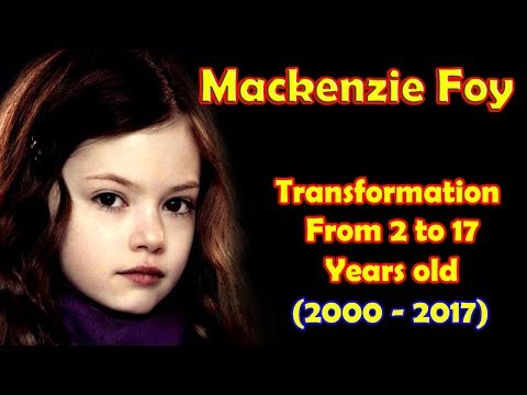 Mackenzie Foy transformation from 2 to 17 years old