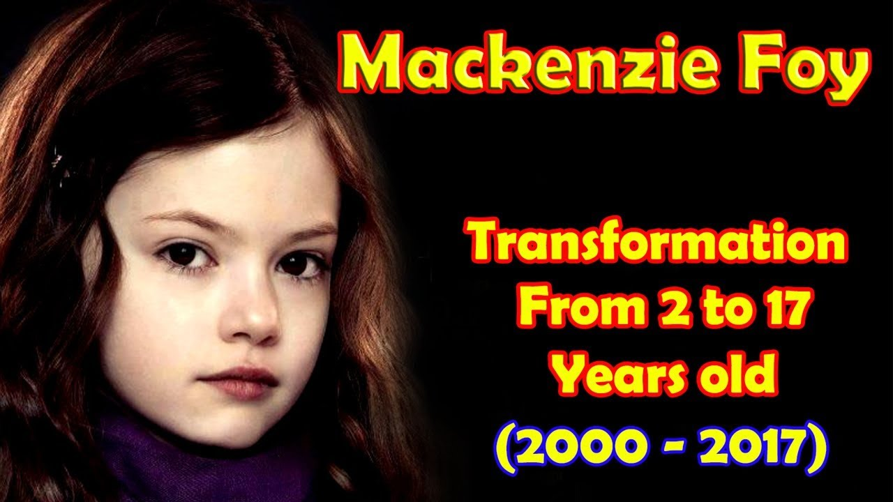 Mackenzie Foy transformation from 20 to 20 years old