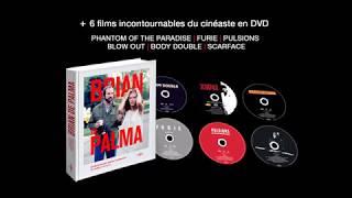 Coffret livre / DVD Brian De Palma : teaser