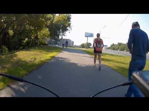 [Slow TV] Bicycle Ride - Moscow Russia (Maryina R, Solyanka, Muzeon, Gorky Park, City)
