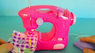 Kids Toy Sewing Machine unboxing and playing ~ Great Toy Kitchen