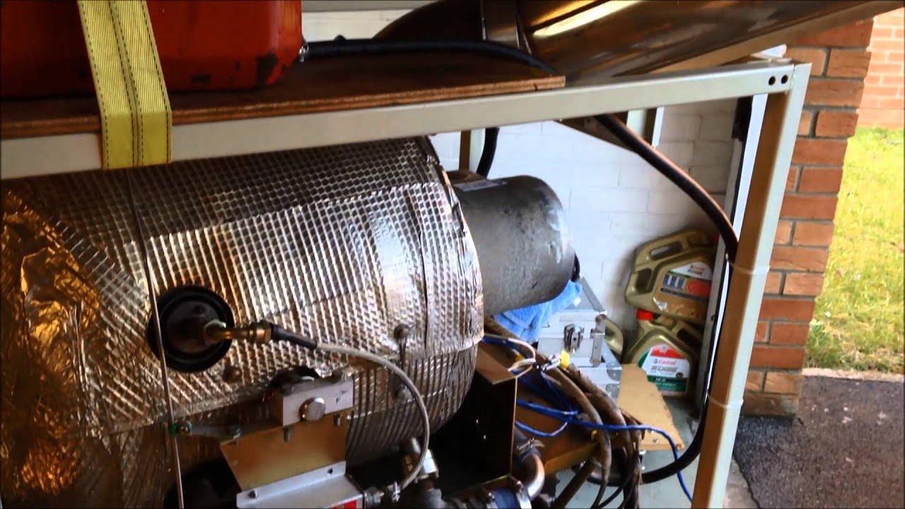 Capstone HEV TREV Microturbine Jet Engine Range Extender