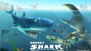 Самая опасная акула!!! Hungry shark evolution