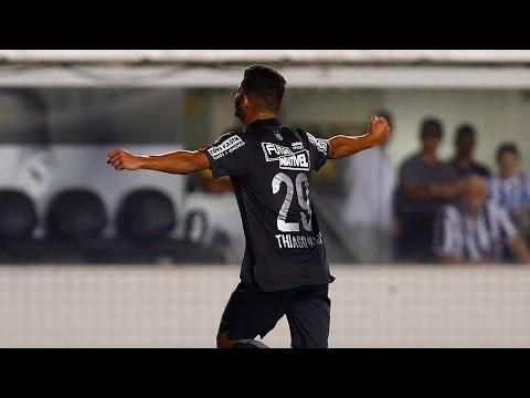 Thiago Maia marca o seu primeiro gol como profissional