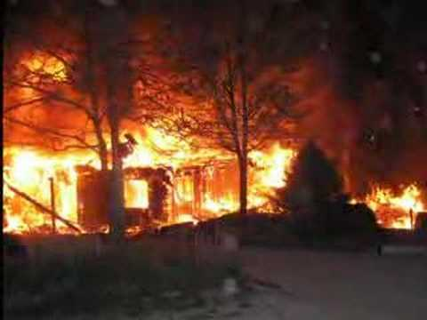 Fire Ravages Little Portion Hermitage