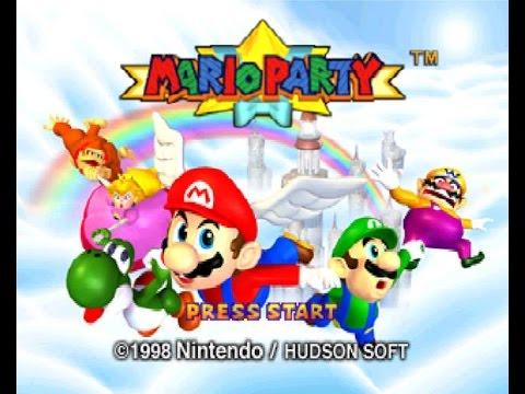 Mario Party Test Stream