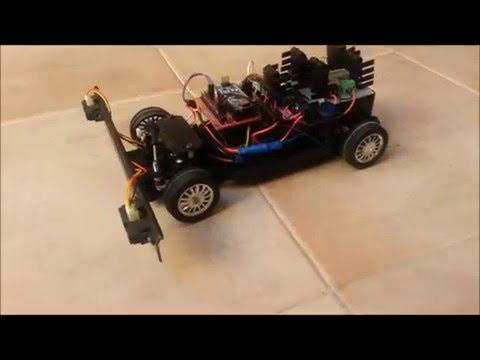 Autonomous following RC car