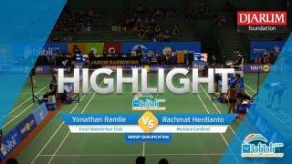 Gambar cover Yonathan Ramlie (Exist Badminton Club) VS Rachmat Herdianto (Mutiara Cardinal)