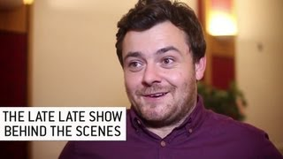 Lawrence Kinlan from Love/Hate - The Late Late Show | Behind the Scenes