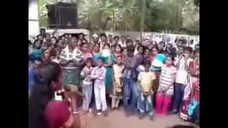 Rajahamsame  Chandralekha Singing in Public Place..