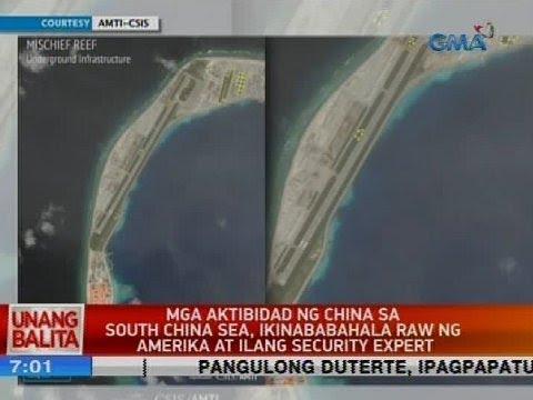 Mga aktibidad ng China sa South China Sea, ikinababahala raw ng Amerika at ilang security expert