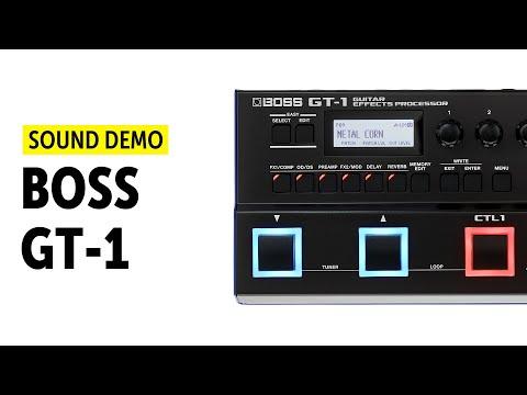 Boss GT-1 Sound Demo