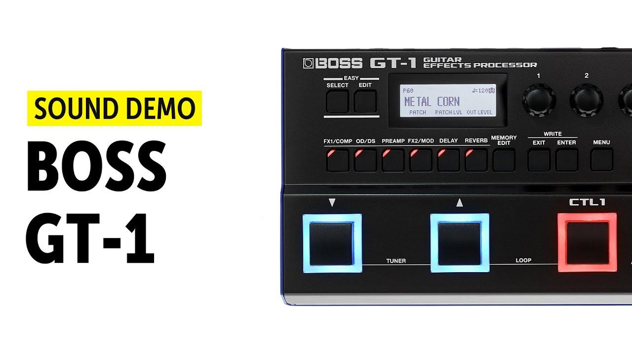 boss gt 1 sound demo no talking youtube. Black Bedroom Furniture Sets. Home Design Ideas