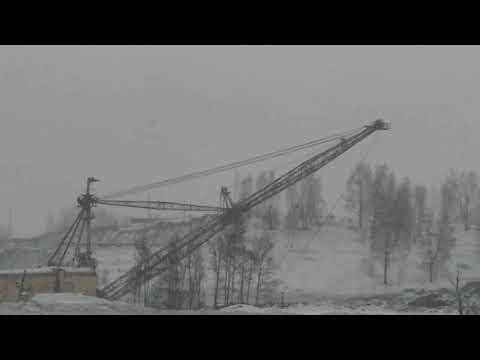 Поездка к недрам сибирской земли.Угольный карьер
