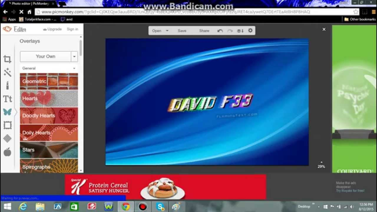 how to make channel art on youtube 2015