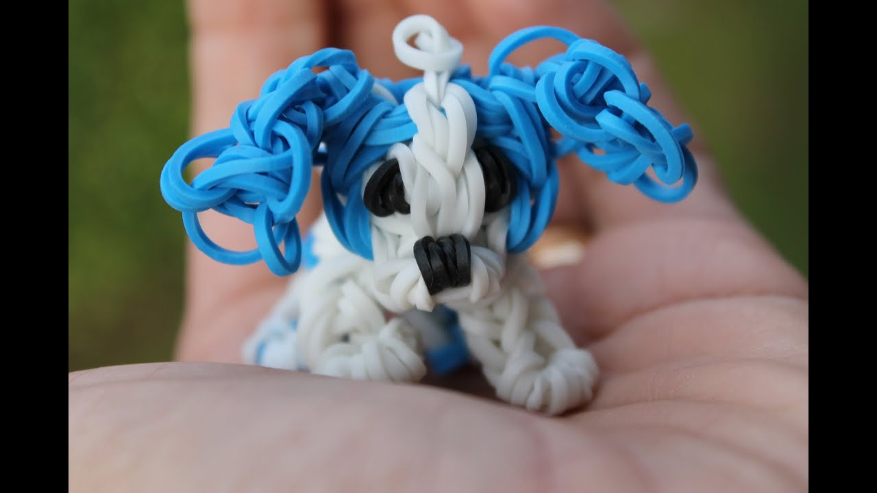 How To Make A Dog Out Of Rainbow Loom