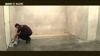 Ламинат  водостойкий в ванную комнату  Правила укладки(, 2014-08-30T16:22:03.000Z)