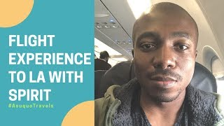 My First Flight on Spirit Airlines to Los Angeles ✈️ | Unexpected Surprise!