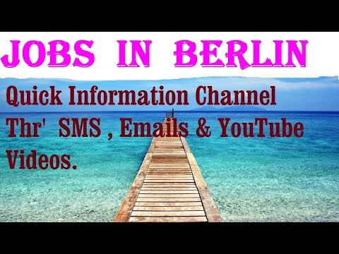 Jobs  in  BERLIN   City for freshers & graduates. industries, companies.  GERMANY