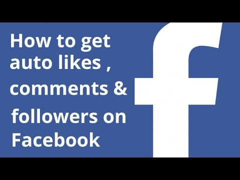 [ hindi ] How to get Auto likes & Auto comments for facebook  10000+
