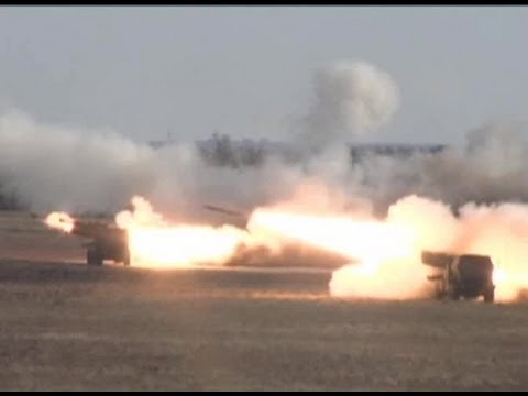 HIMARS Rocket Live Fire - US and Singaporean Army Training