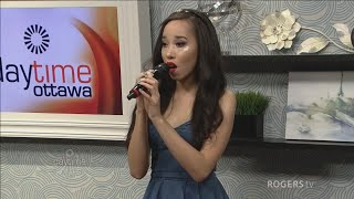 Jade Naraine performs