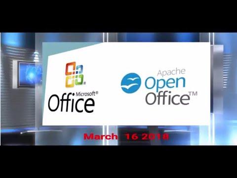 Open Office Vs Office 365 March 16 2018