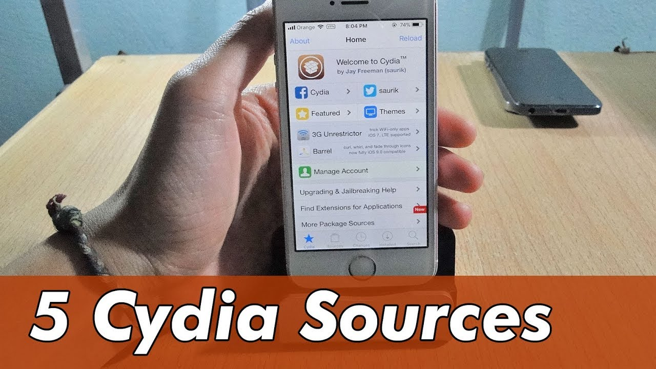 Top 5 CYDIA Sources and Repos for iOS 11 - 11 1 2