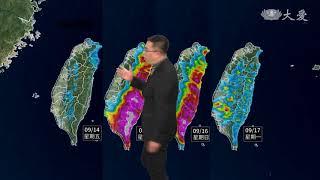 山竹颱風 路徑持續往南修正