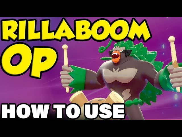 Rillaboom Op How To Use Rillaboom In Pokemon Sword And Shield Rillaboom Moveset Guide Youtube Here's how to do it. how to use rillaboom in pokemon sword