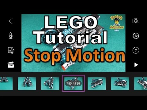 How to make a Lego Stop Motion Video - Lego Tutorial #1 - YouTube