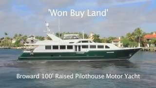 Broward Luxury Yacht For Sale & Charter