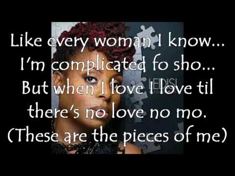 Ledisi pieces of me lyrics