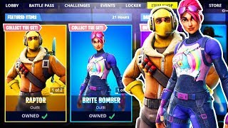 *NEW* SKINS FORTNITE ITEM SHOP SEASON 8 LIVE (Fortnite Battle Royale)
