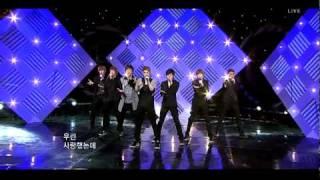 110403 U-Kiss - 0330, LIVE @ Inkigayo HQ