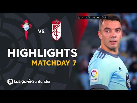Celta Vigo Granada Goals And Highlights