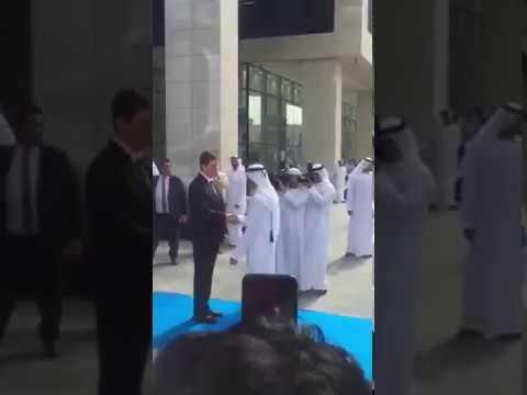 Sheikh Hamdan in Dubai Media City