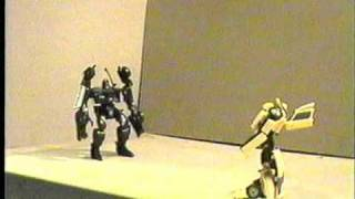 (Old Stop Motion) - Bumblebee vs. Barricade