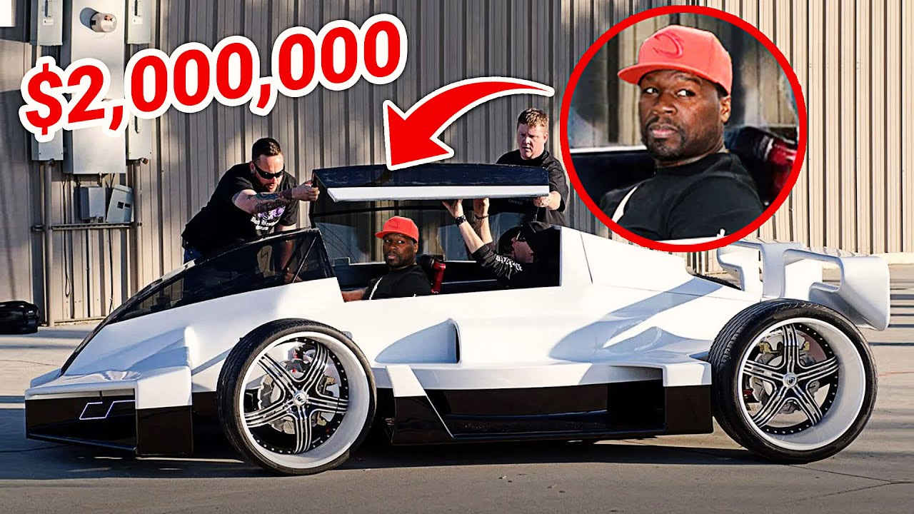 50CENT'S CRAZY CAR COLLECTION!