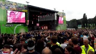 Prinz Pi - Keine Liebe LIVE (Juicy Beats 2012)